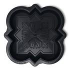 Форма для тротуарной плитки «Клевер краковский малый», 21.5 х 21.5 х 4.5 см, шагрень