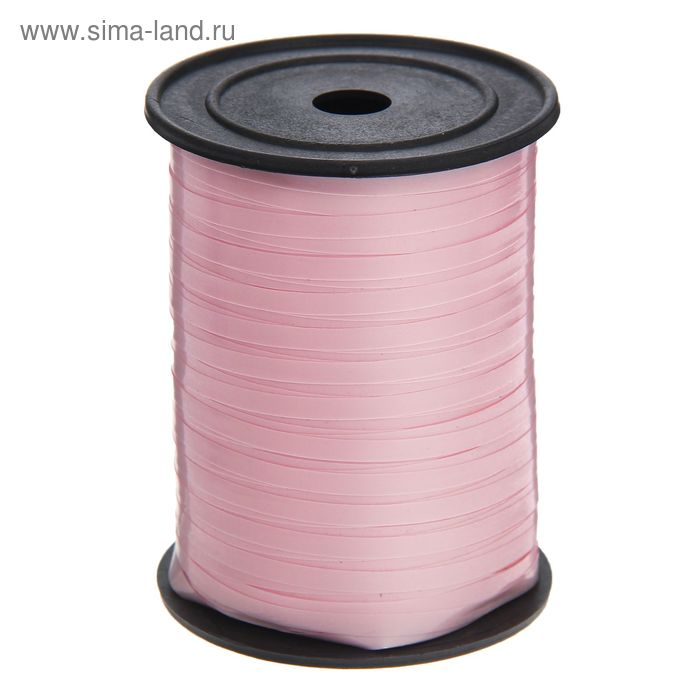 Лента глянец (0,5 см * 250 ярд) Розовый
