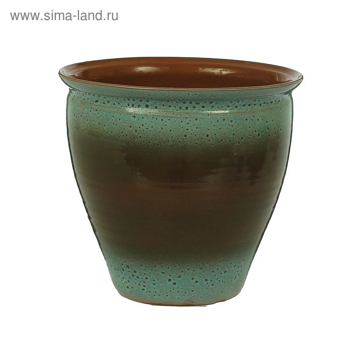 Жаровня коричнево-голубая 7 л