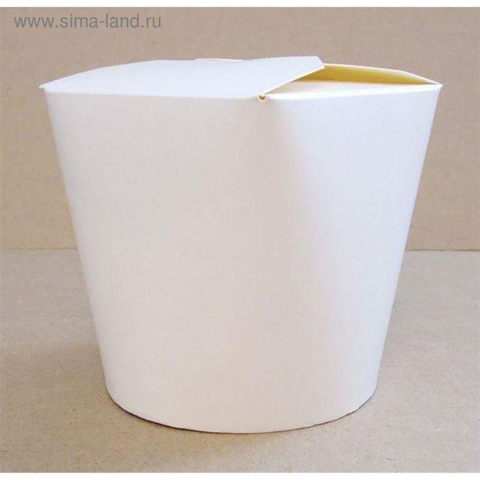 Коробка для лапши 700 мл, белый