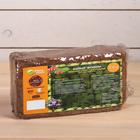 Субстрат кокосовый, в блоке, 20 × 10 × 7 см, 650 г, в индивидуальной упаковке