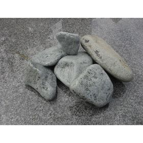 Камень для бани порфирит окатанный 15 кг, пакет