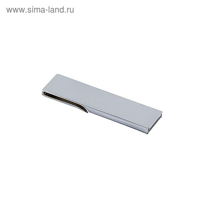 USB-флешка 8Gb, под УФ-печать/лазерную гравировку/тампопечать, серебристая