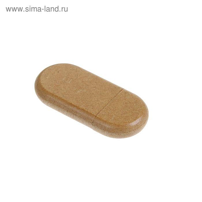 USB-флешка 8Gb, прессованная бумага, под УФ-печать/лазерную гравировку/тампопечать