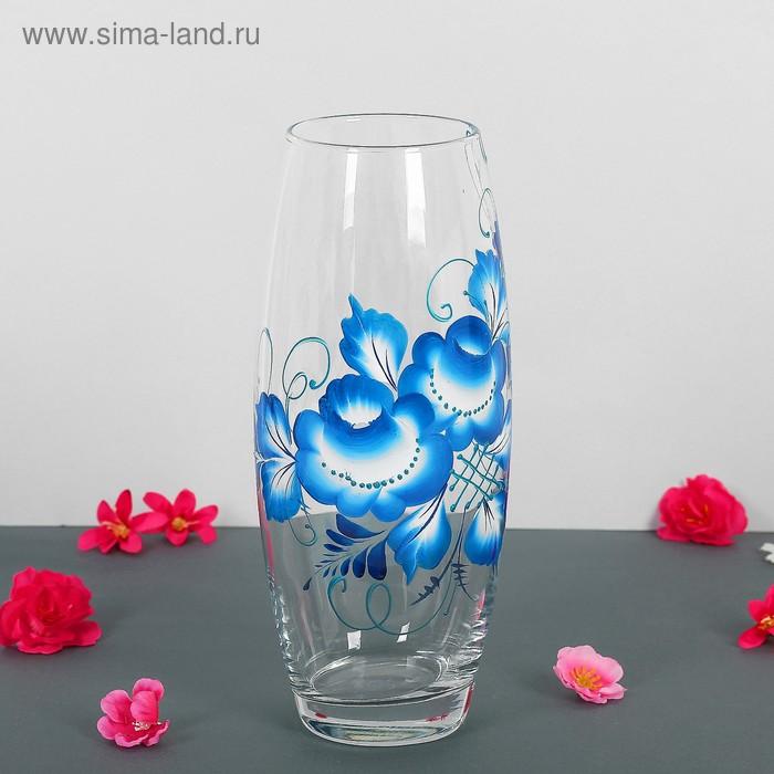 "Ваза Flora ""Гжельский цветок"""