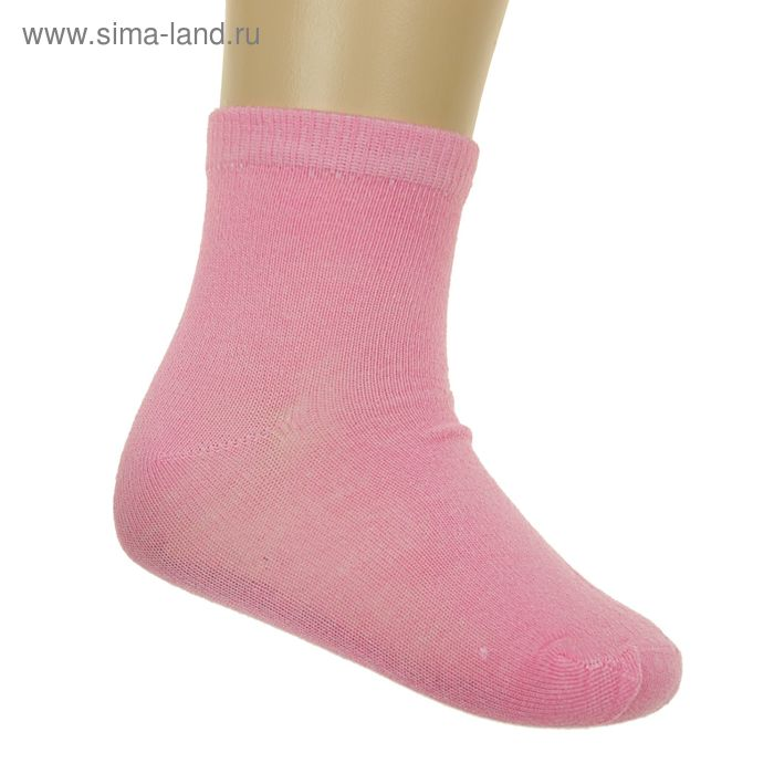 Носки детские Классика, размер 20-22 (размер обуви 30-34), цвет темн.розовый GS-165