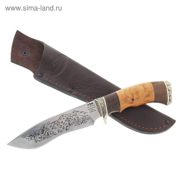 """Нож """"Мираж"""" (3170)а, рукоять-венге, карельская береза, алмазная сталь"""