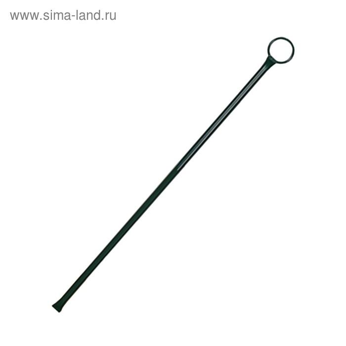 Набор колышек 50 см, d=1 см, 10 шт, цвет зеленый