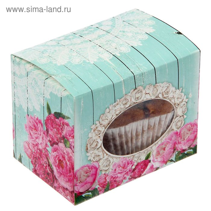 """Коробочка для сладостей """"Шебби-шик"""", 10 х 8 х 7 см"""