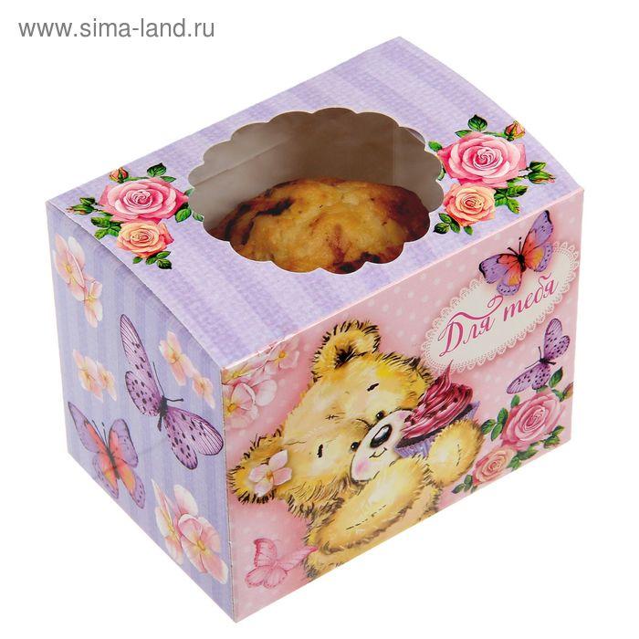 Коробочка для сладостей «Ми– ми– мишки», 10 х 8 х 7 см