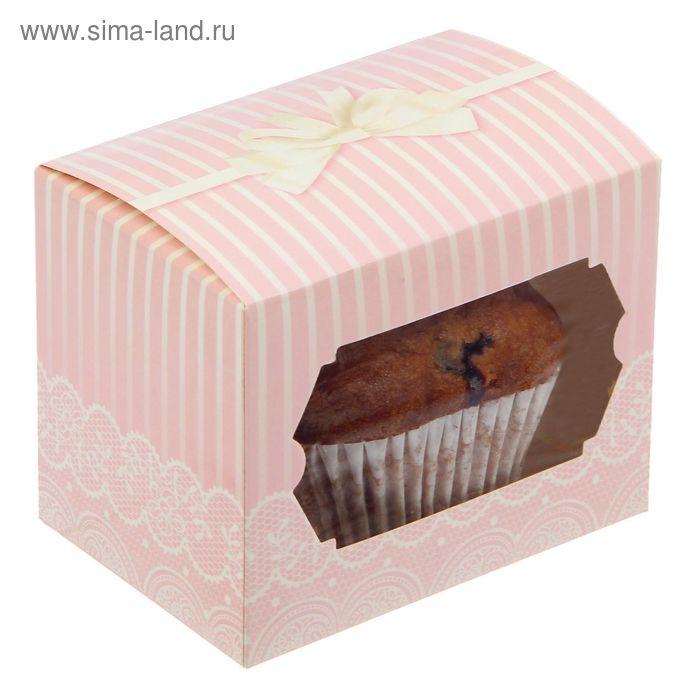 """Коробочка для сладостей """"Нежность"""", 10 х 8 х 7 см"""