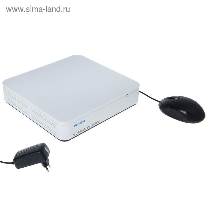 Видеорегистратор AMATEK AR-H41L, четырехканальный, 720P