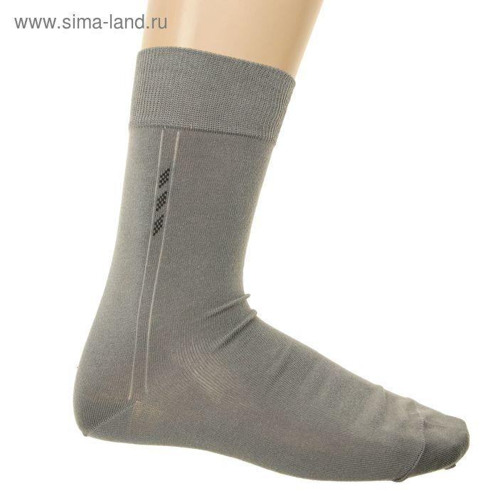 Носки мужские, размер 25-27 (разм.обуви 40-42), цвет серый 5В260