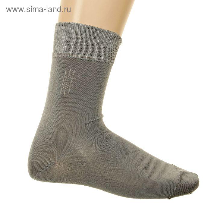 Носки мужские, размер 25-27 (разм.обуви 40-42), цвет серый 4В258