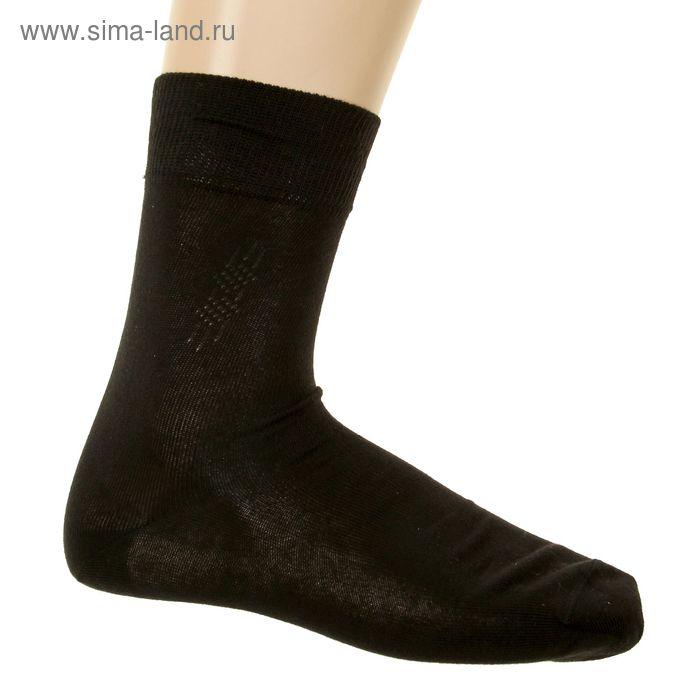 Носки мужские, размер 25-27 (разм.обуви 40-42), цвет черный 4В258