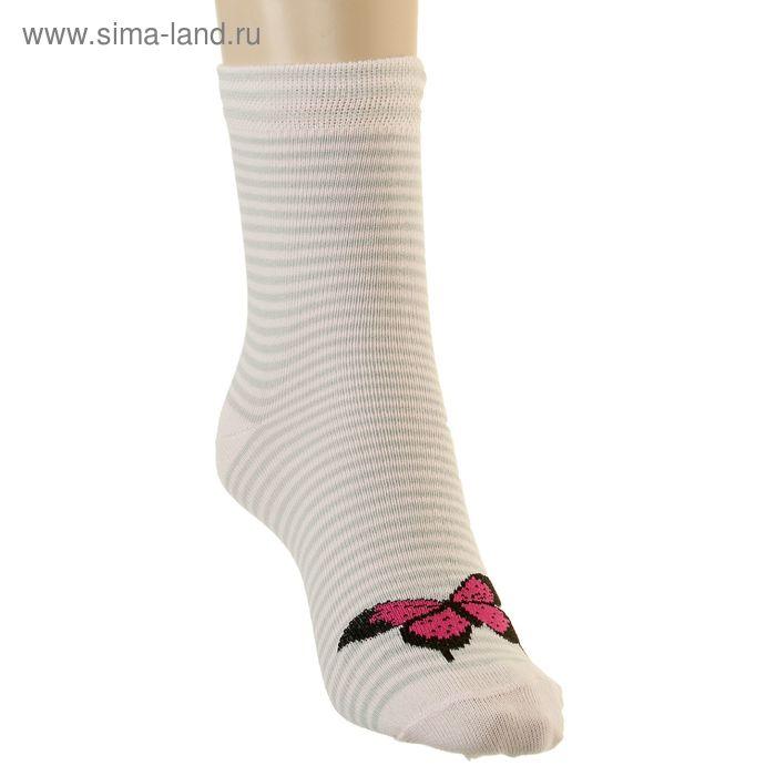 Носки детские, размер 20-22, светло-розовый 4В456