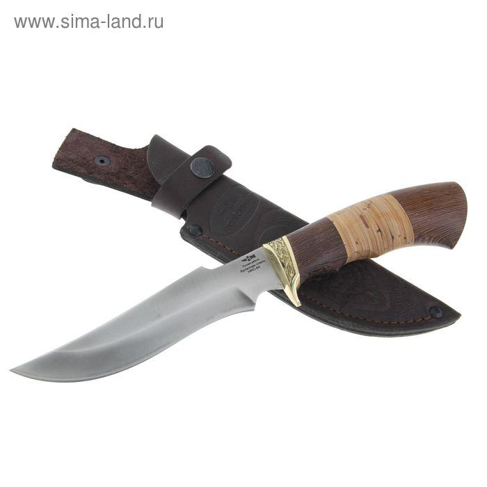 """Нож нескладной """"Кардинал"""" (6126)б, рукоять-дерево, булатная сталь"""