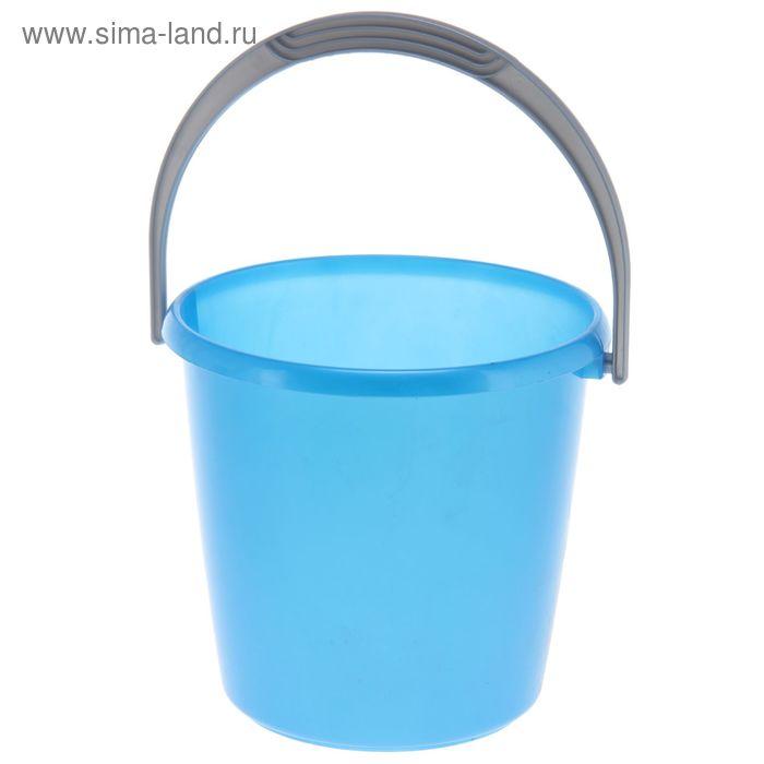 """Ведро 7 л """"Соло"""", цвет синий перламутр"""