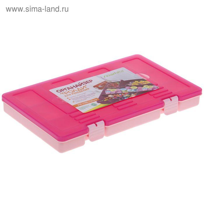"Органайзер 31х19 см ""Фолди"", цвет розовый"