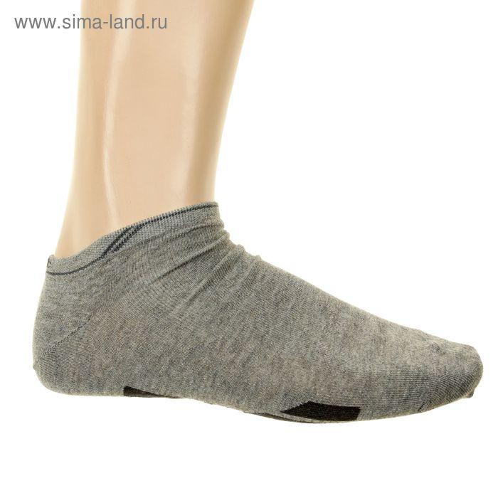 Носки мужские, размер 27-29 (разм.обуви 42-44), цвет серый 12В232