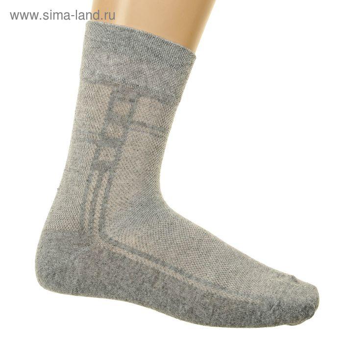 Носки мужские арт.3В224, цвет светло-серый, р-р 29 (разм.обуви 43-44)
