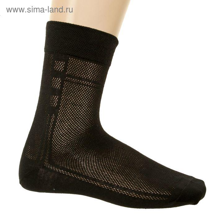 Носки мужские арт.3В224, цвет черный, р-р 29 (разм.обуви 43-44)