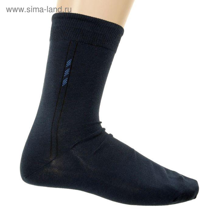 Носки мужские, размер 23-25 (разм.обуви 37-40), цвет темно-синий 5В260