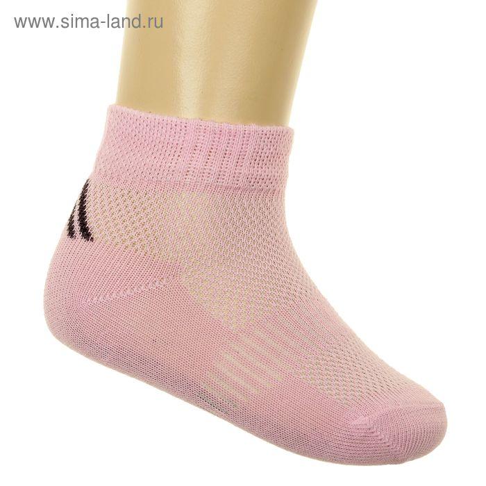 Носки детские, размер 20 (разм.обуви 26-28), цвет розовый 6В431