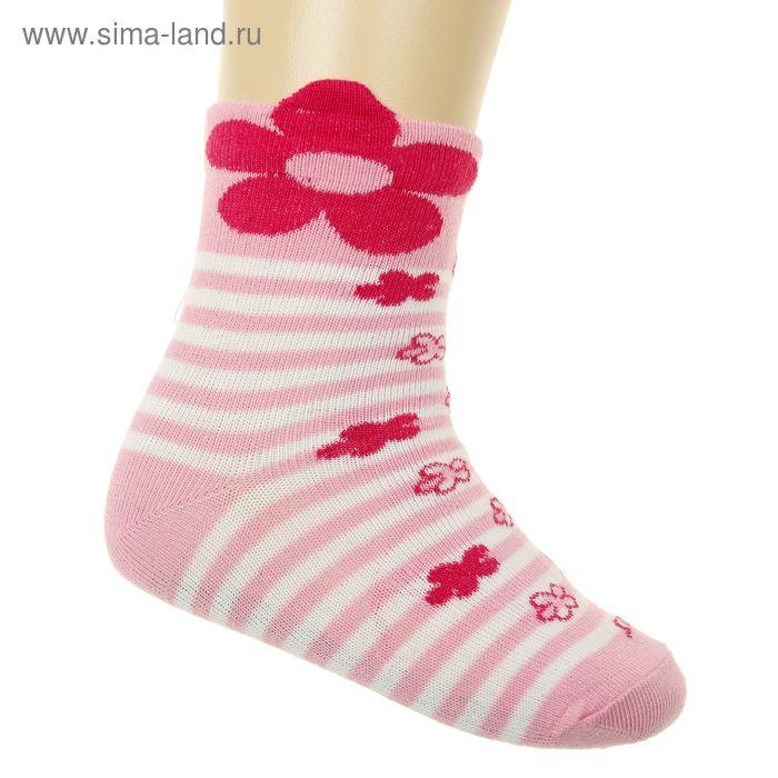 Носки детские, размер 8-10 (3-6 мес), цвет розовый 5В400