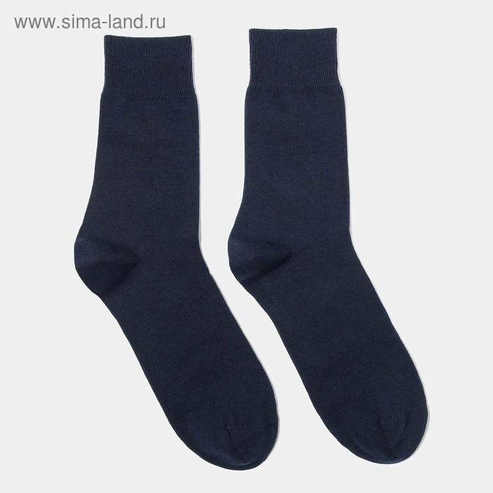 Носки мужские, размер 25-27 (разм.обуви 40-42), цвет темно-синий 4В258
