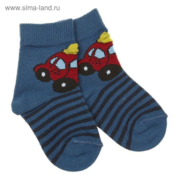 Носки детские, размер 8-10 (3-6 мес), цвет джинс 5В400