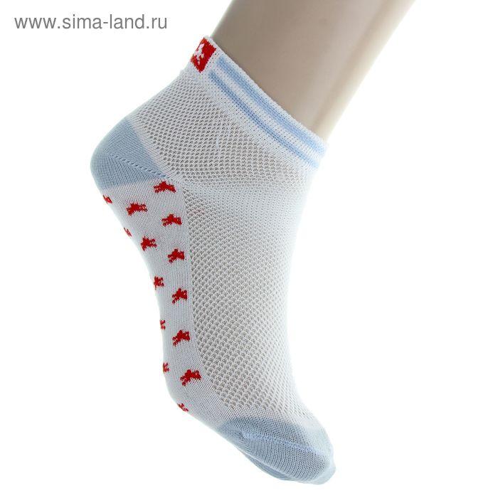 Носки детские, размер 22 (разм.обуви 28-30), цвет белый 6В431