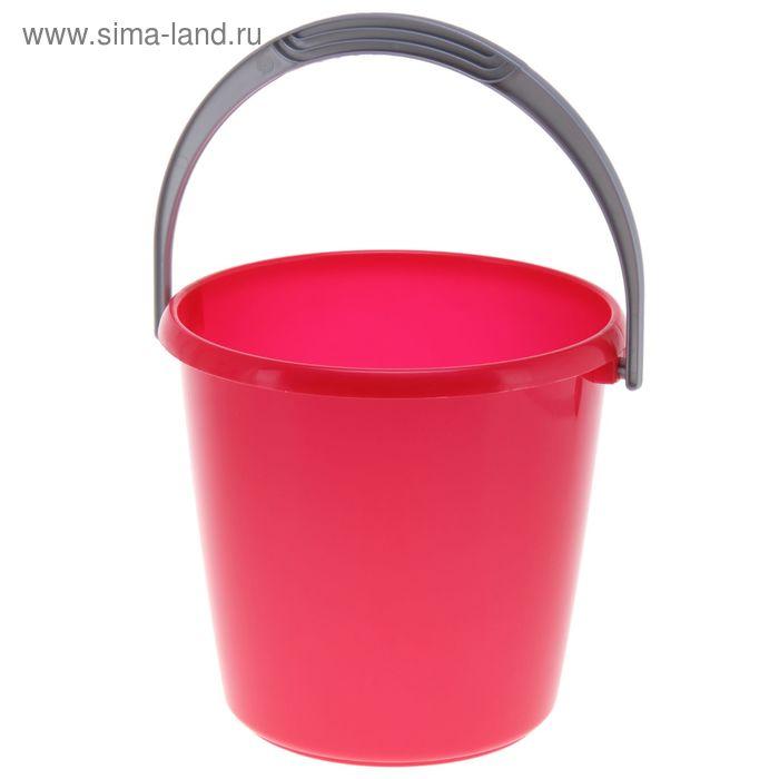 """Ведро 3 л """"Соло"""", цвет красный перламутр"""