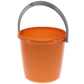 Ведро 3 л 'Соло', цвет оранжевый перламутр Ош