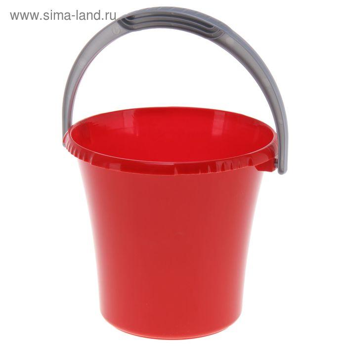 """Ведро 3 л """"Либерти"""", цвет красный"""