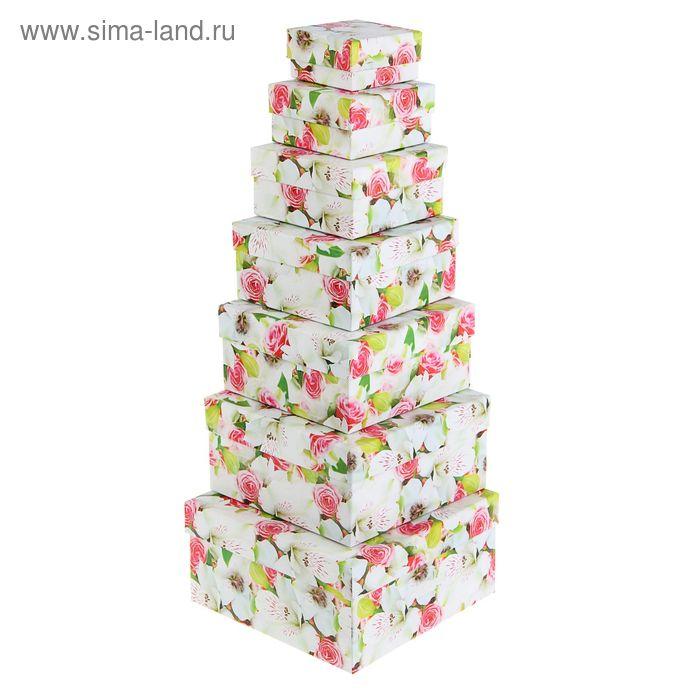 """Набор коробок 7 в 1 """"Цветы яблони"""""""