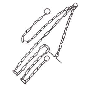 Цепь для выгона КРС трехконцевая, калибр 5 х 36 мм Ош