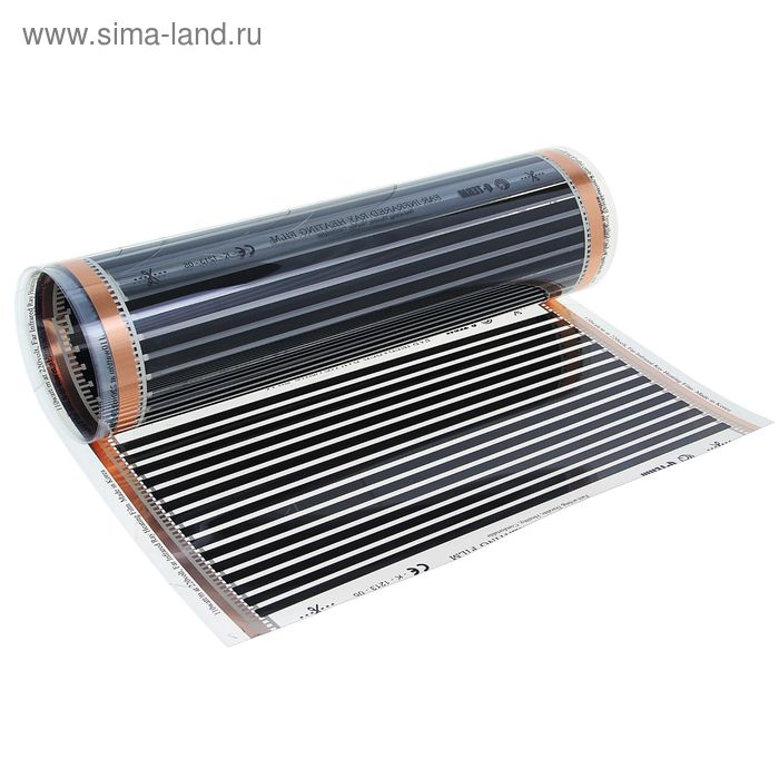 Теплый пол WarmFilm 1100-5,0, пленочный, инфракрасный, ламинат/линолеум, 1100 Вт, 5 м2,