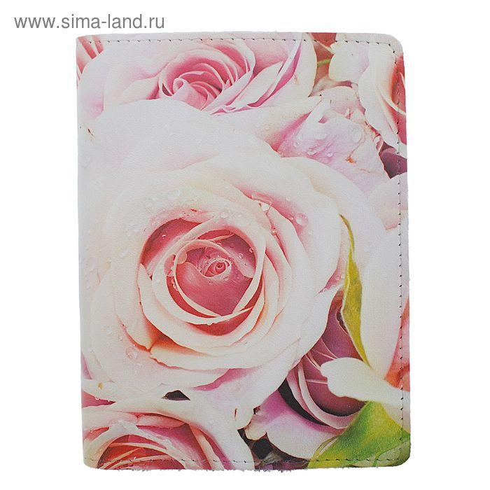 """Обложка для паспорта """"Розы"""", фотопечать"""