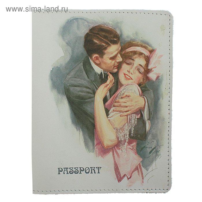 """Обложка для паспорта """"Любовь"""" фотопечать"""