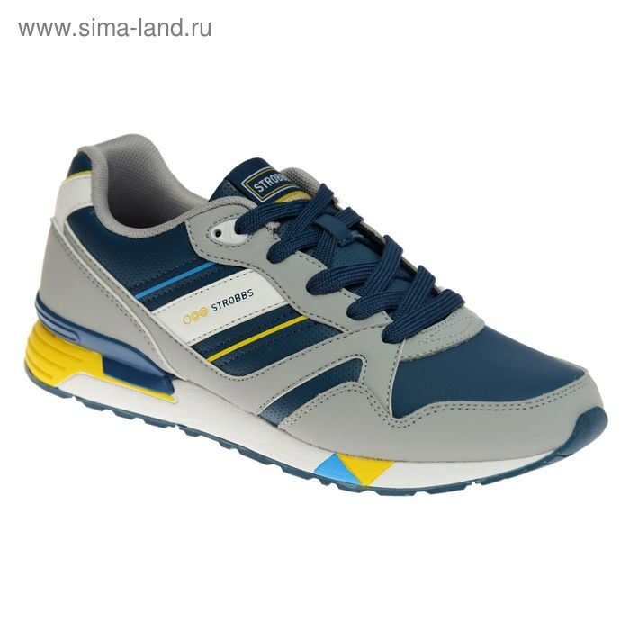 Кроссовки мужские STROBBS, цвет синий, размер 42 (арт. C2300-7)