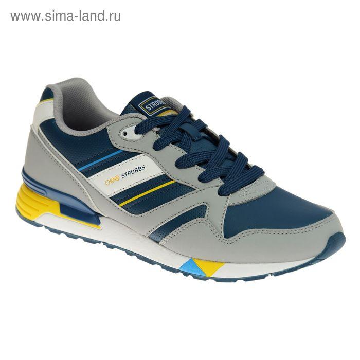 Кроссовки мужские STROBBS, цвет синий, размер 45 (арт. C2300-7)