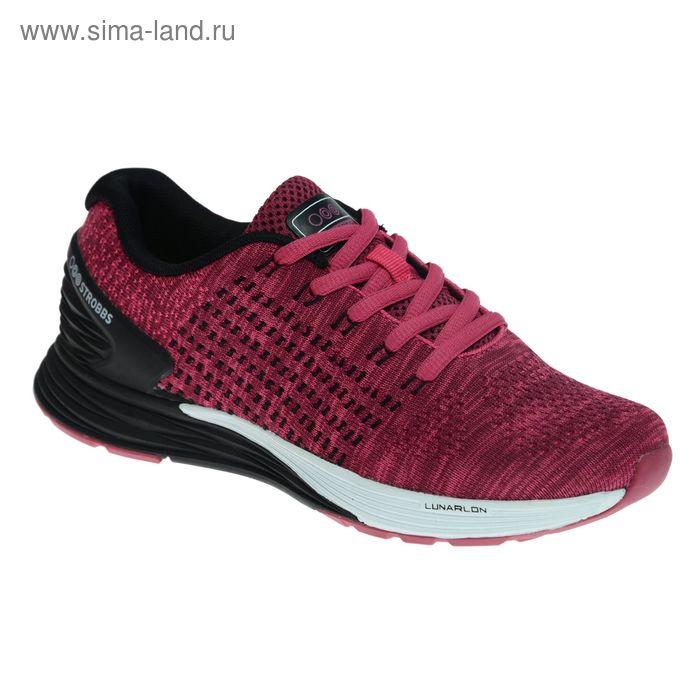 Кроссовки женские STROBBS, цвет бордо, размер 38 (арт. F6400-12)
