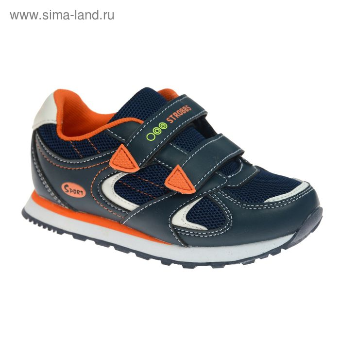 Кроссовки детские STROBBS, цвет синий, размер 26 (арт. S1385-02)