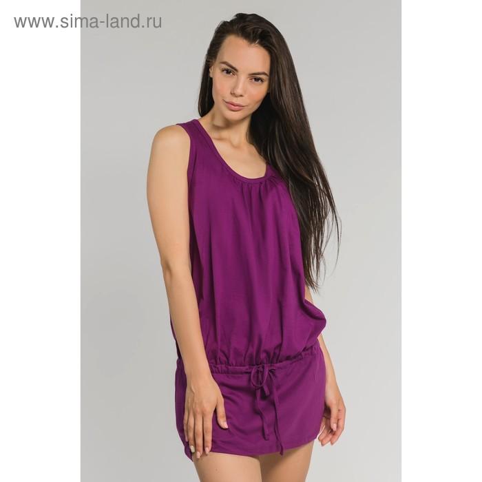 Туника женская, цвет фиолетовый, размер 50 (арт. М-427-09)