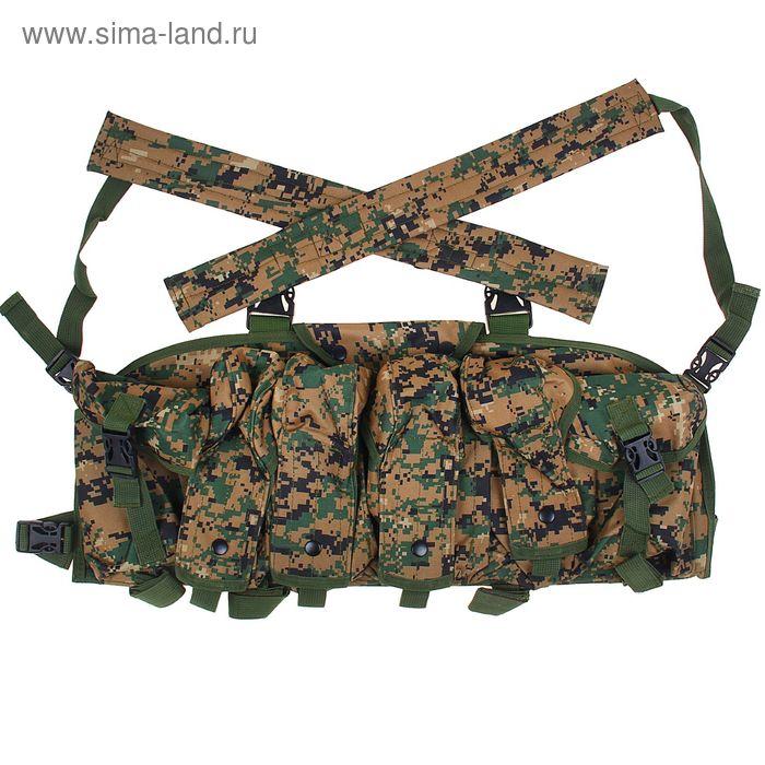 Жилет разгрузочный KINGRIN AK vest (D-woodland) VE-06-DW