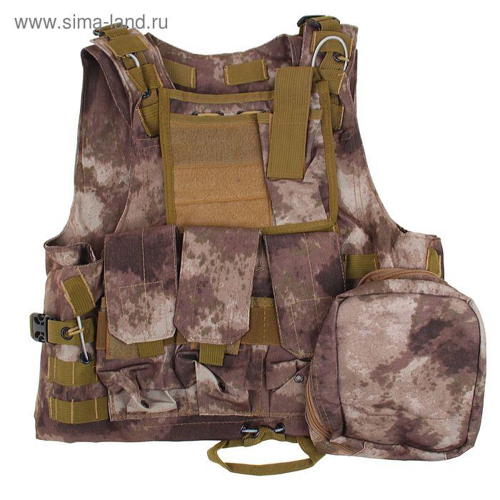Жилет разгрузочный KINGRIN FSBE vest (A-tacs) VE-02-AT