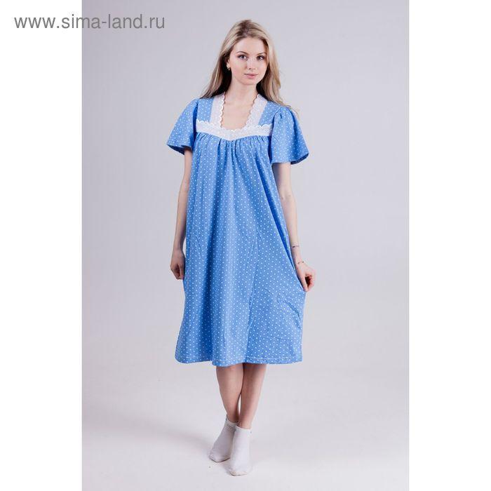 """Сорочка женская """"Зоя"""", цвет микс, размер 62"""