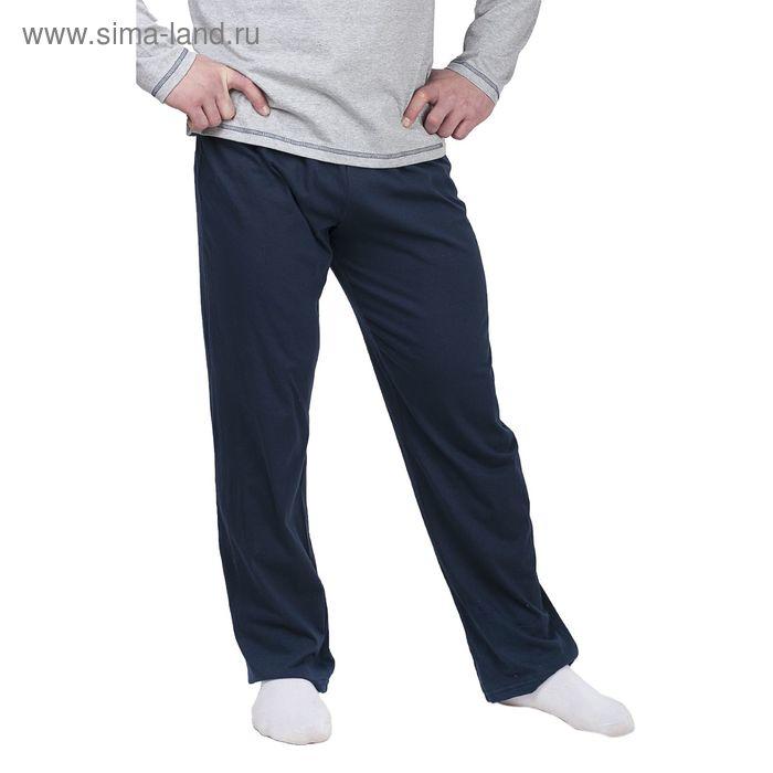 Брюки мужские MSP011501 тёмно-синий, р-р 58