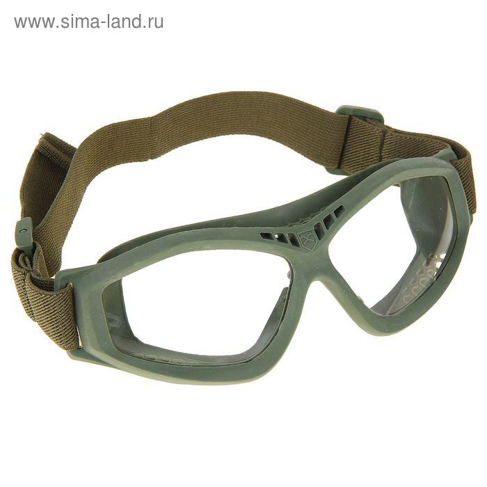 Очки защитные для страйкбола KINGRIN Shoot glasses BANT (OD) MA-68-OD
